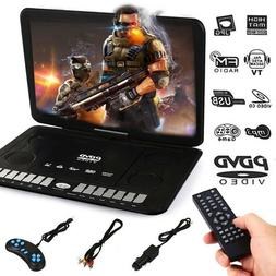 13.9'' LCD Widescreen DVD Player Movie TV Player w/Game Joys