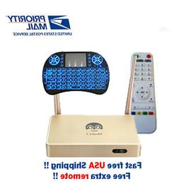 2020 Arabic TV Box Faster Free Backlit Keyboard and Extra Re
