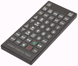 RoyalCraft TM 8 Function Jumbo Universal Remote Control.