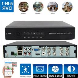 8CH 5in1 H.264 CCTV HDMI DVR Vodeo Recorder Remote View for