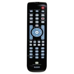 RCA Three-Device Universal Remote, Black