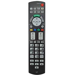 Replacement Remote Controller for Panasonic TVs TC-P50ST30 T