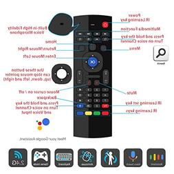 Air Remote Mouse 2.4GHz Mini Wireless Keyboard Mouse Voice I