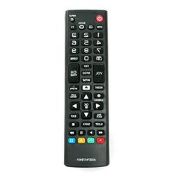 AKB74475401 Replace Remote fit for LG TV 55UF6430 49UF6490 5