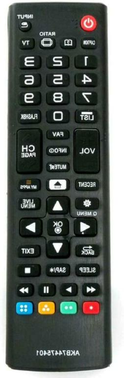 ALLIMITY AKB74475401 Replaced Remote Control fit for LG LCD