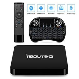 DBNICE Android TV Box, 2018 Latest A95X Pro Android Box, And