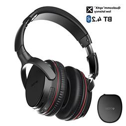 TROND Bluetooth V4.2 Headphones Wireless with Mic Over Ear,