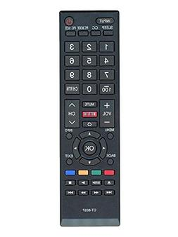 New CT-8037 Universal Remote Control for All Toshiba BRAND T