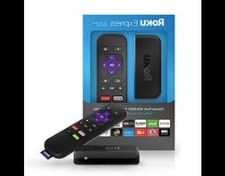 Roku Express HD Media Streaming Media Player Speed HDMI Remo
