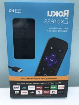 ROKU EXPRESS  HD STREAMING MEDIA PLAYER  LATEST MODEL , NEW