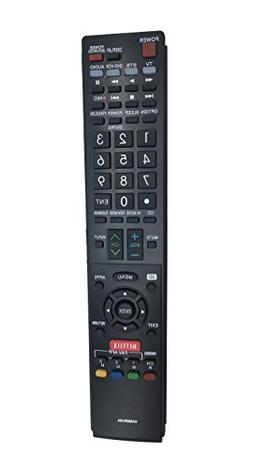 GA890WJSA New Replaced Remote for Sharp Aquos TV Remote Cont