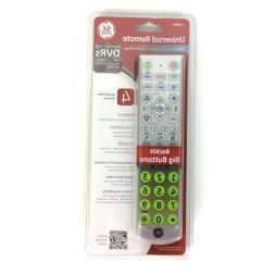 GE 4-Device Universal DVR Remote Control - For TV, Blu-ray D