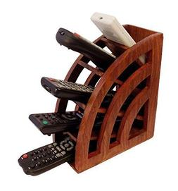 WhopperIndia Gorgeous Hand Crafted Wooden Remote Stand, A/c