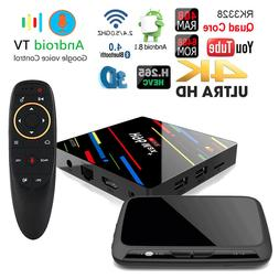 H96 MAX+ Dual WiFi Bluetooth 4GB Android 8.1 TV Box+Google V
