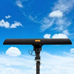 Leadzm HDTV 1080p Outdoor Amplified Antenna 150Miles HD TV R