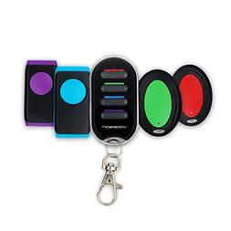 Vodeson KF04C Portable Keychain Key Finder Wireless Electron