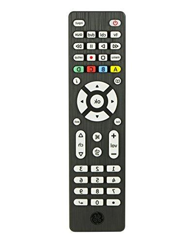 GE 34457 4-Device Remote Control, Brushed