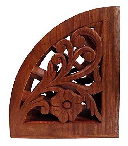 Dungri India ® Wooden Multi Remote Control Holder/stand/org
