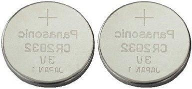 One  Twin Pack  Panasonic Cr2032 Lithium Coin Cell Battery 3