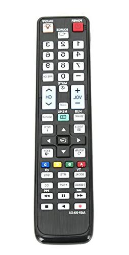 New AA59-00443A Replaced Remote fit for Samsung LED TV 6000