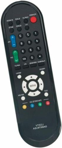 ABS Black Remote Control GA667WJSA RRMCGA667WJSA For Sharp L