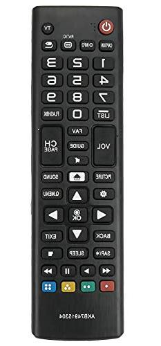 ALLIMITY AKB74915304 Replaced Remote Control Fit LG TV AGF76