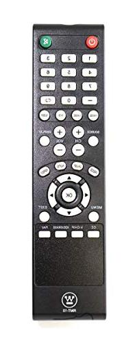 New Black RMT-15 TV Remote Control for Westinghouse VR-3226