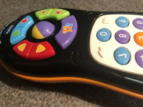 VTech Click and Count Remote Baby Toy Black