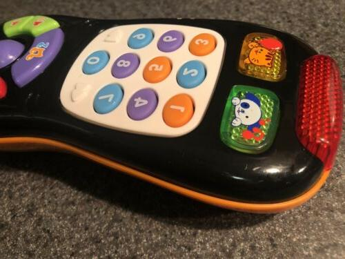 VTech Click Remote Baby Learning Toy Black