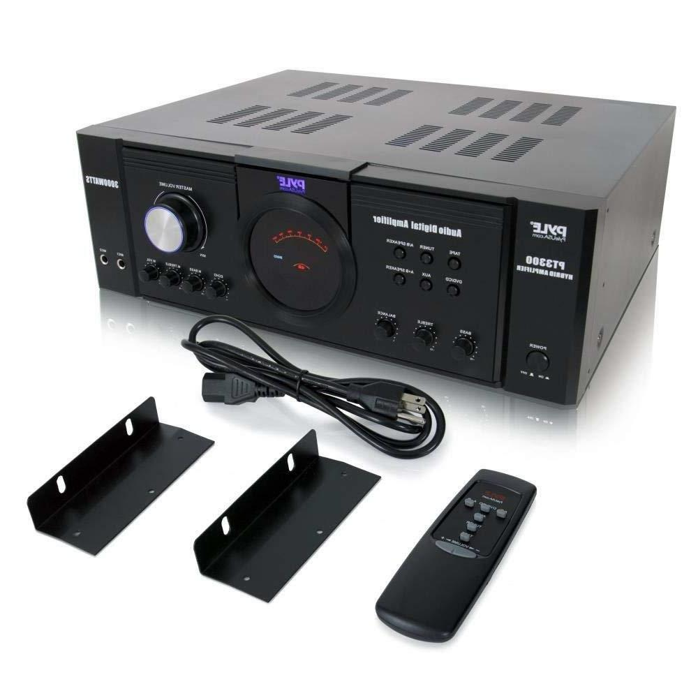 Home Audio Amplifier Receiver 3000 Watt 4 Channel Surround S