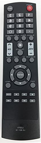 Smartby LC-RC1-16 LCRC116 Remote for Sharp LC-32LB370 LC-32L