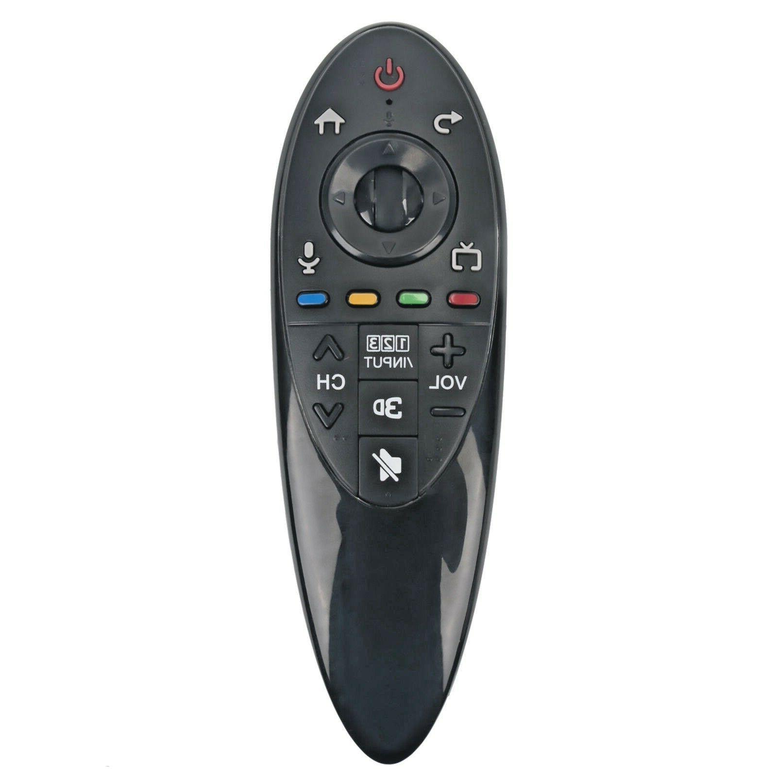 new 3d smart tv remote control an