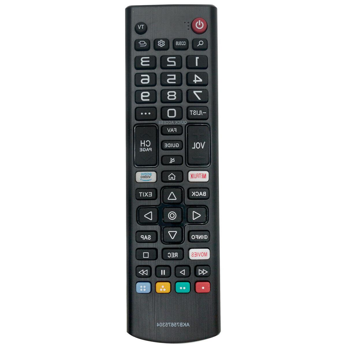new akb75675304 replace remote for lg tv