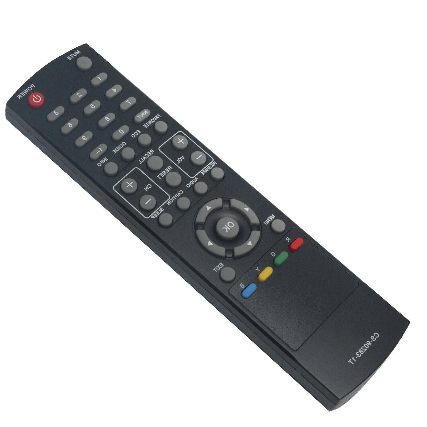 New Control for Sanyo TV DP46142