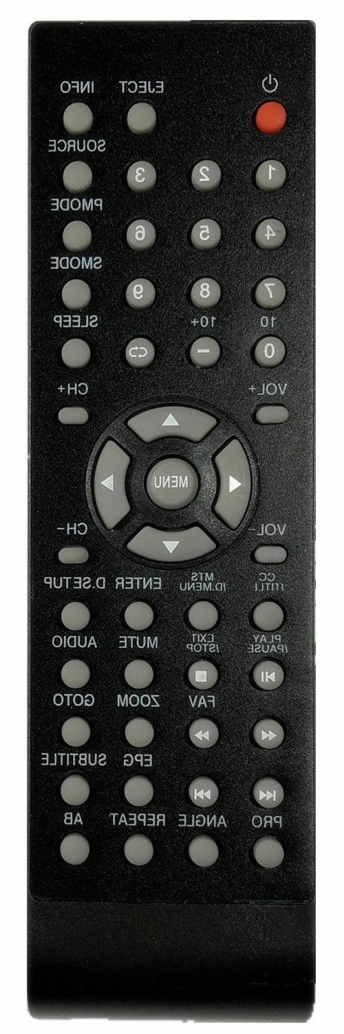 new curtis proscan replaced remote for tv
