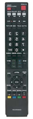 Vinabty New GA840WJSA Replaced Remote Fit for Sharp Aquos TV