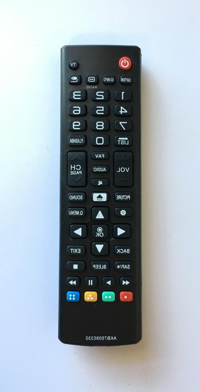 new lg replacement tv remote akb75095330