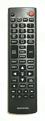 New LG Replacement TV Remote Control AKB74475433 For LG LCD