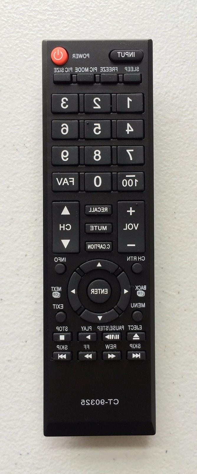 new remote ct 90325 for toshiba 19