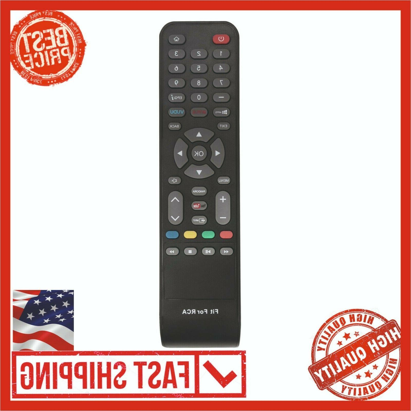 New Remote IR Control RCA Smart LED LCD TV WX15244 WX15163 I