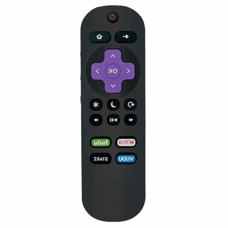 New Replace IR Remote Control fit for Element Roku TV Smart