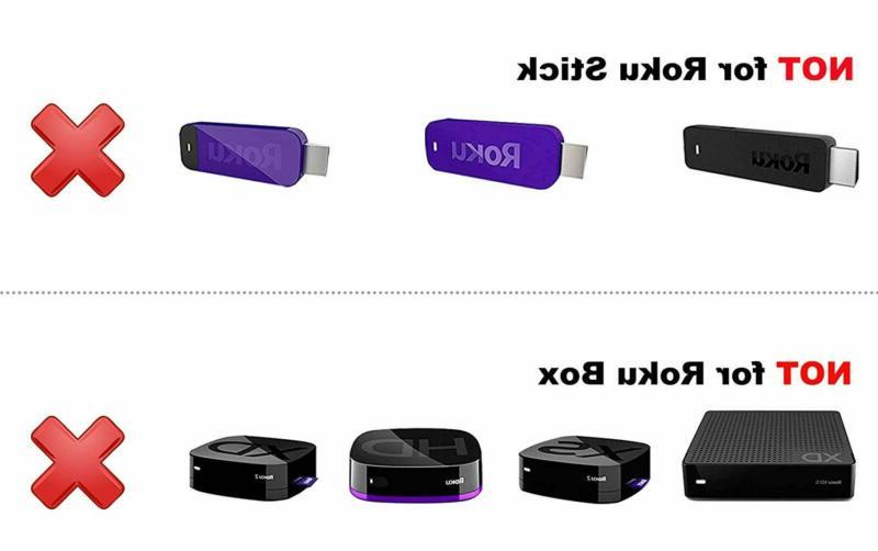 Control fit for Roku TV Ultra HDTV