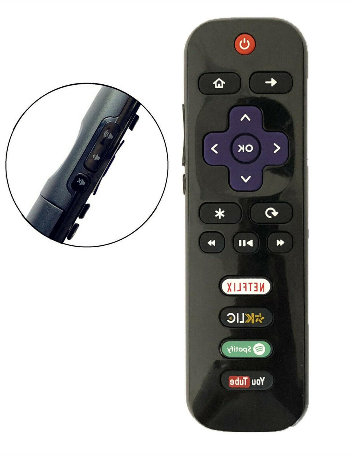 new replaced tcl roku tv remote rc280