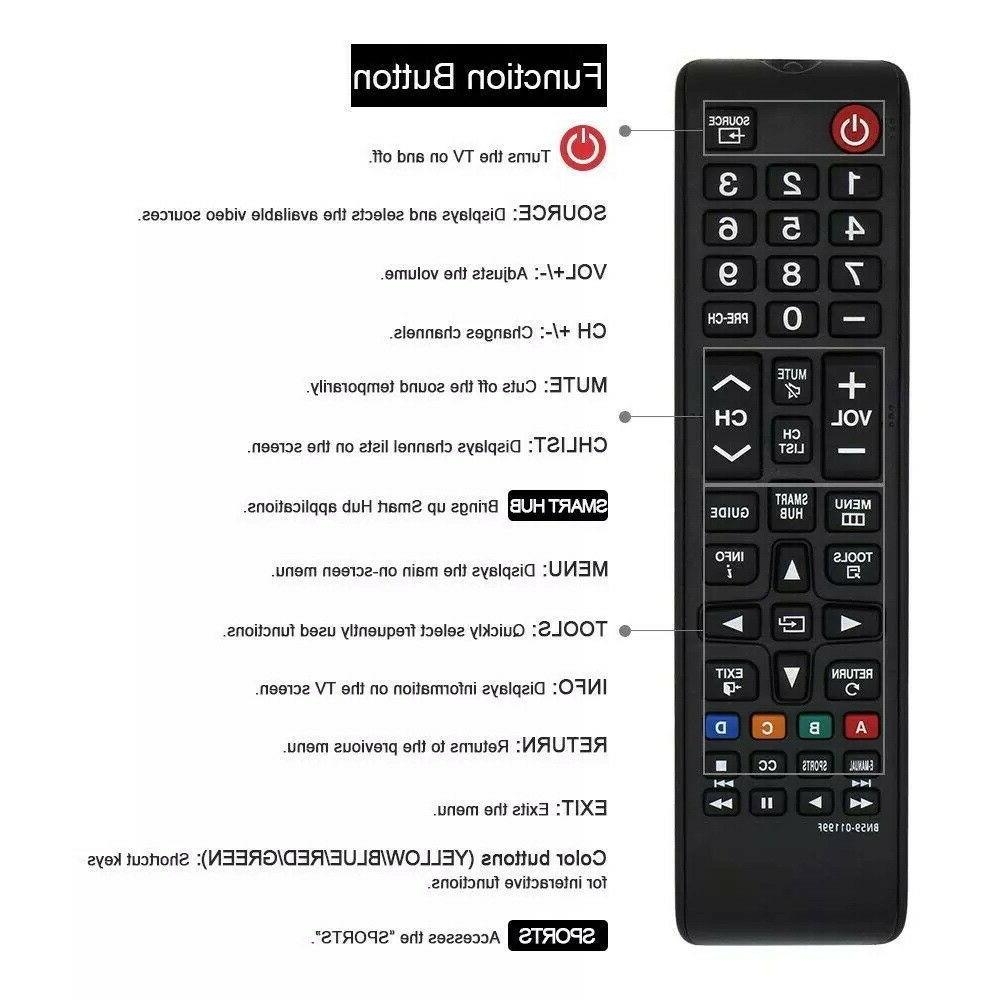 New Remote BN5901199F LED TV