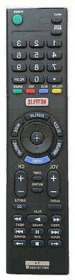 New TV Remote RMT-TX100U For Sony KDL-65W850C KDL-55W800C XB