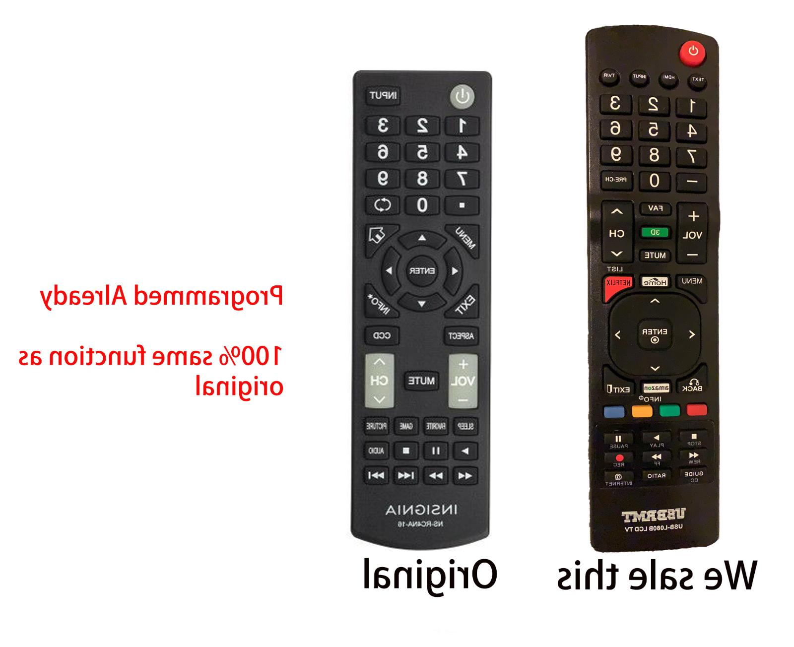 New Universal Remote L080 Replaced for INSIGNIA NS-RC4NA-16