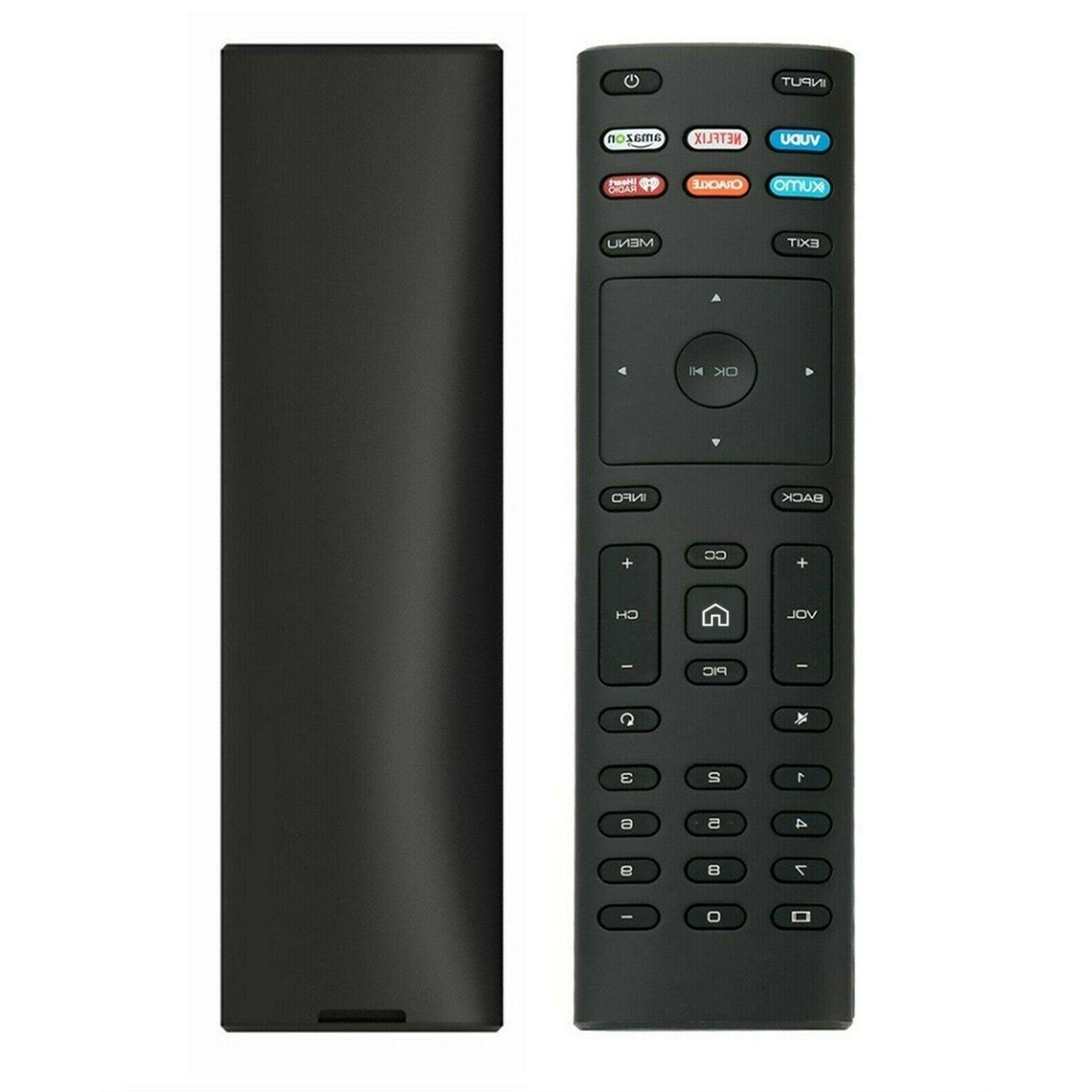 new vizio replacement remote xrt112 smart tv