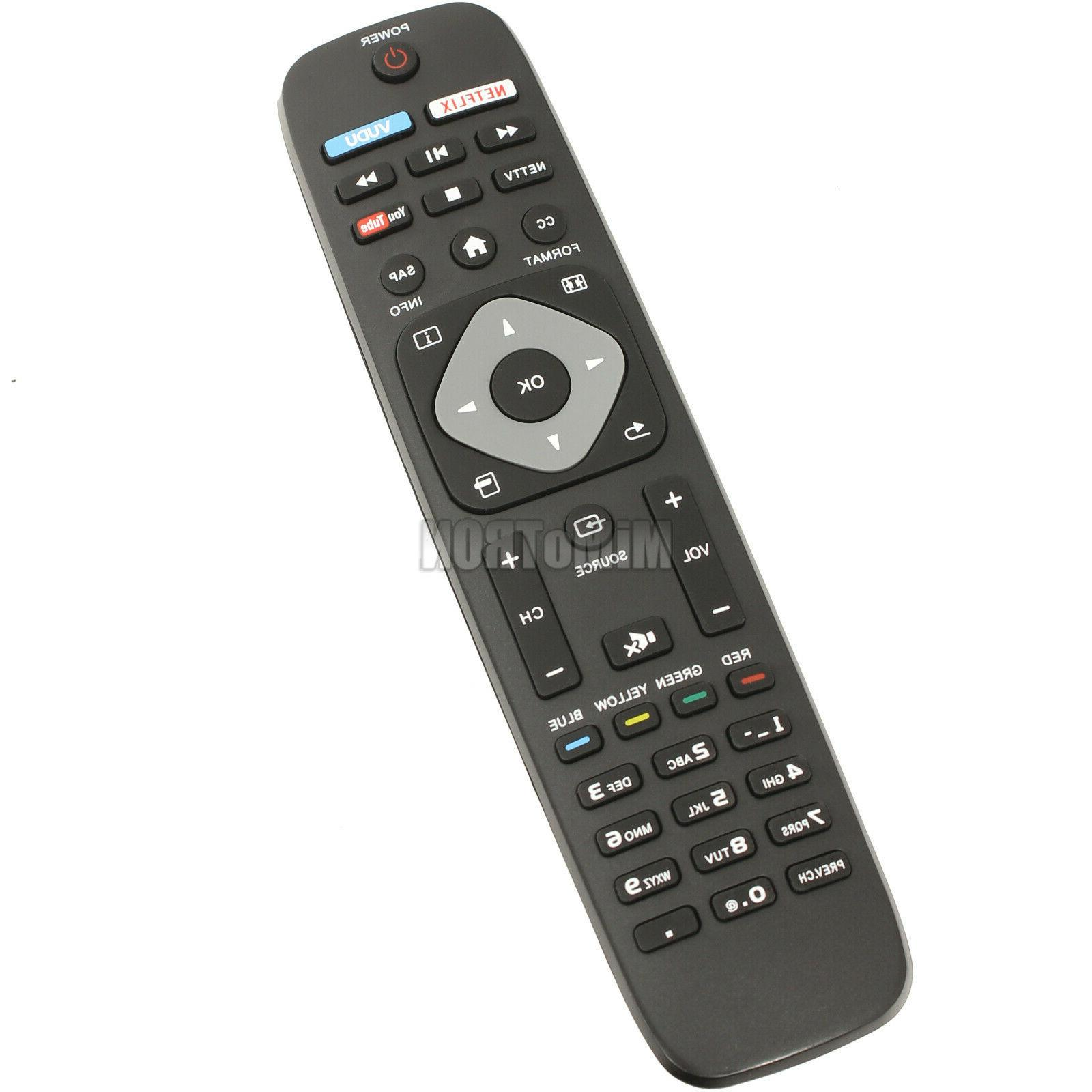 philips nh500up 4k uhd smart tv remote