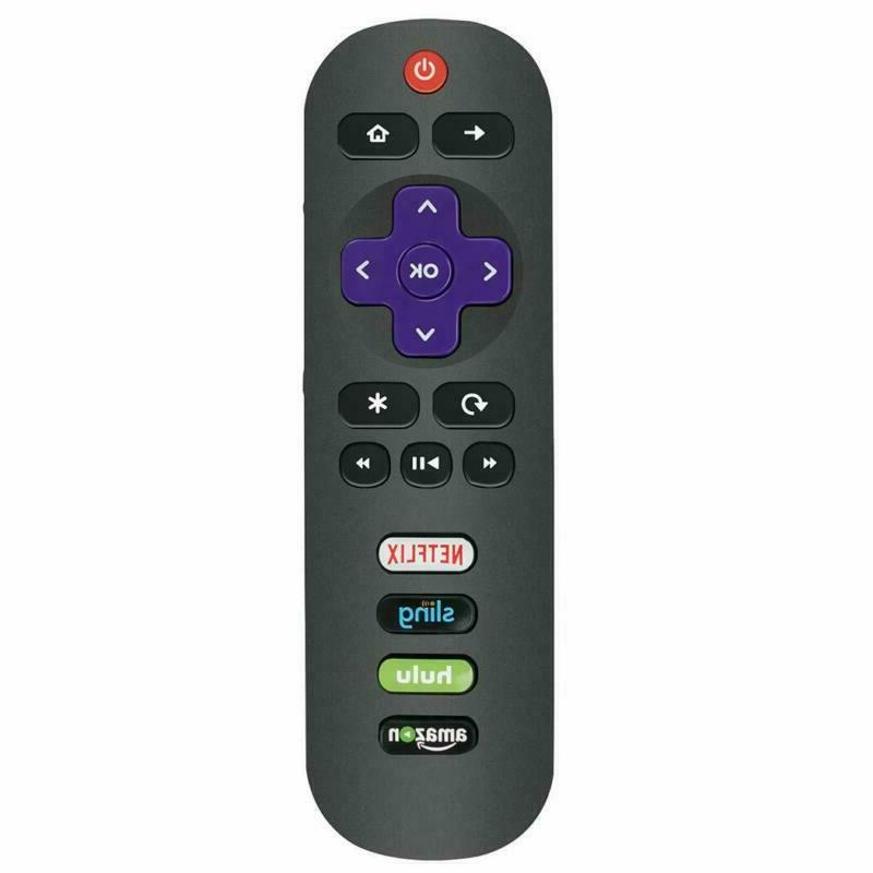 Rc282 Remote Control Applicable For Tcl Roku Tv 32S301 40Fs3