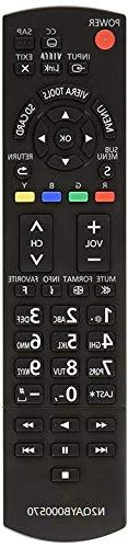 Smartby Replaced Panasonic N2QAYB000570 Remote Panasonic TV